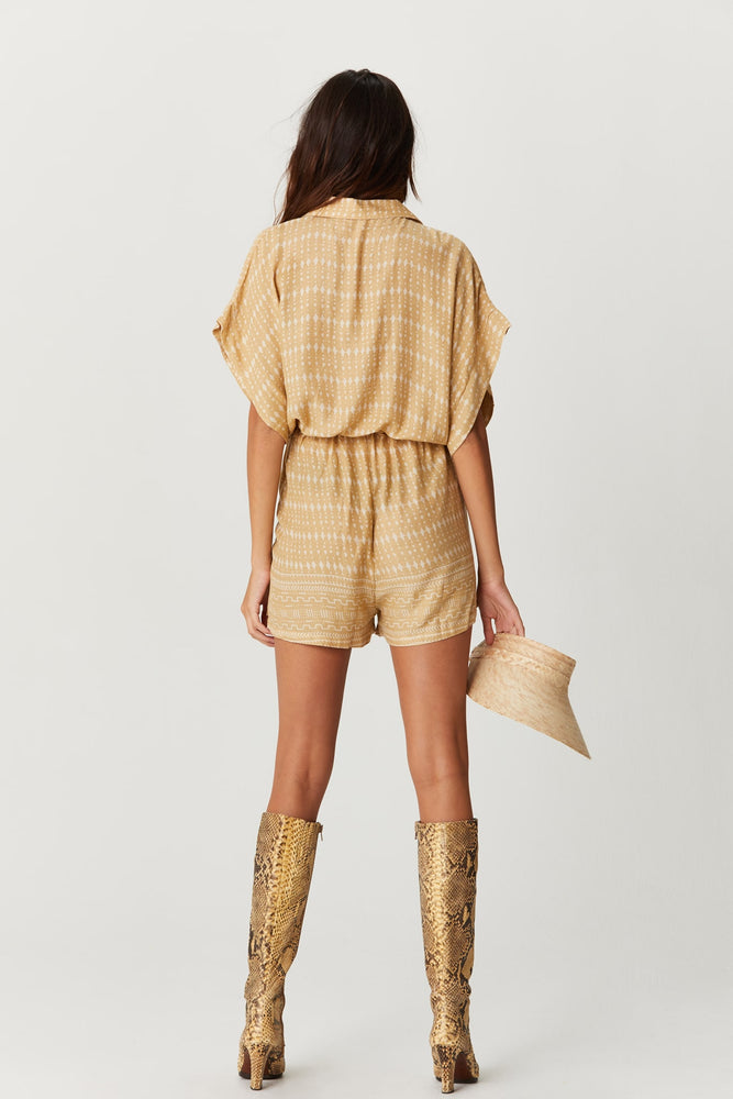 Coffee Playsuit