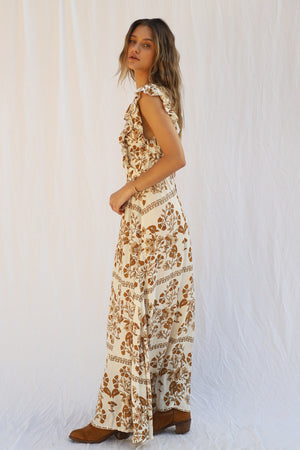 Load image into Gallery viewer, Flower Court Maxi Dress