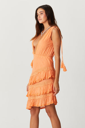 Load image into Gallery viewer, Illeana Ruffle Dress