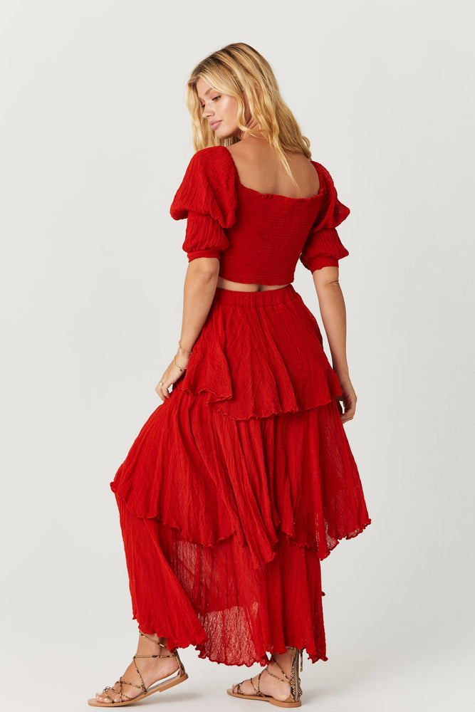 Load image into Gallery viewer, Leonne Ruffle Skirt