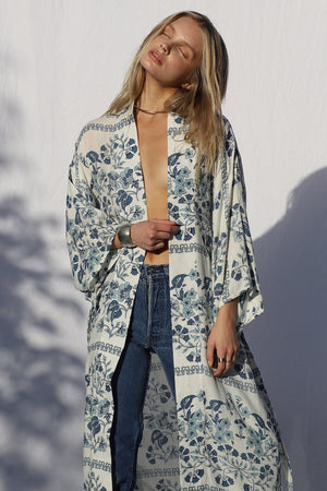 Load image into Gallery viewer, Pacific Park Kimono