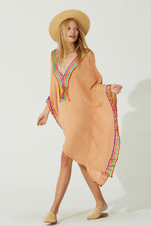 Rainbow Beach Bum Kaftan