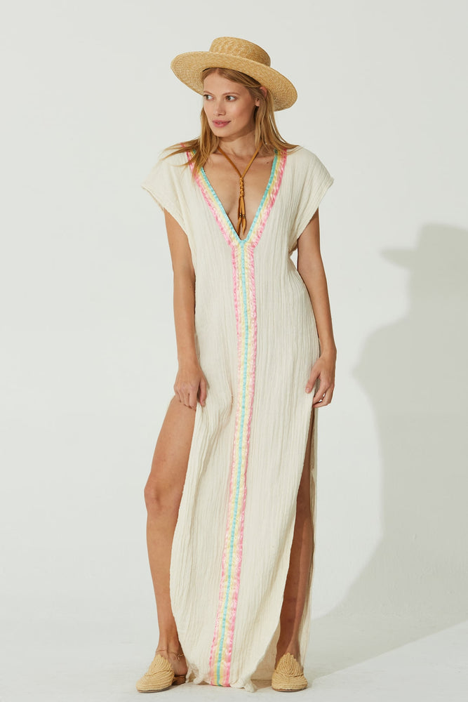 Load image into Gallery viewer, Rainbow Captive Kaftan