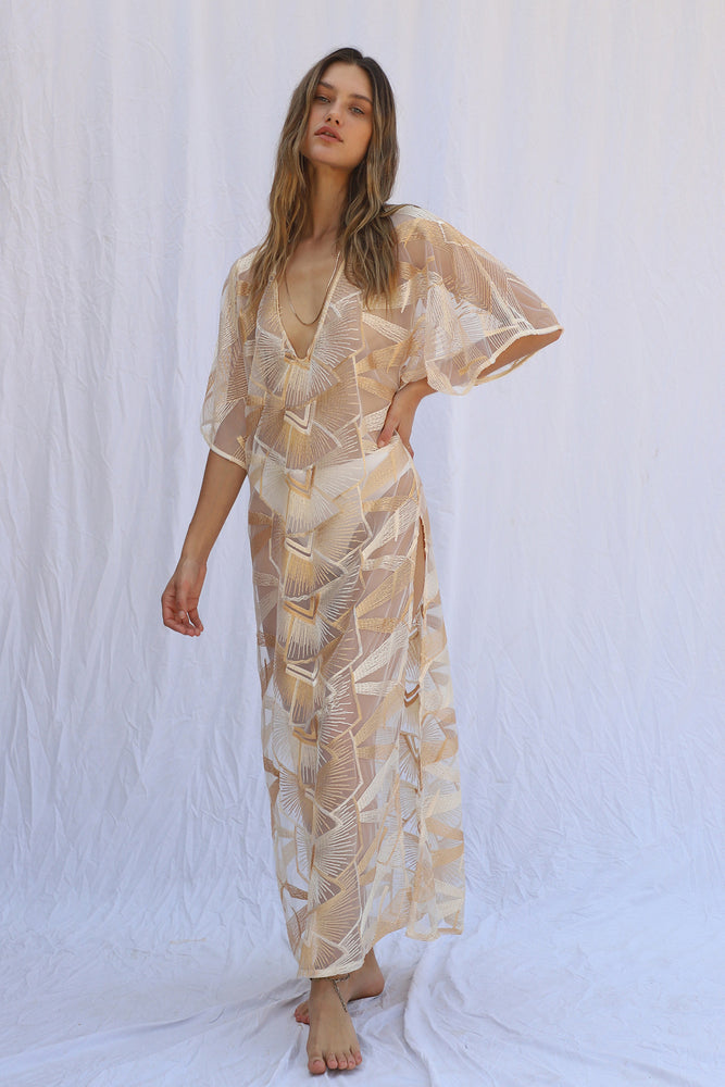 Load image into Gallery viewer, Spirit Rock Kaftan with Slip