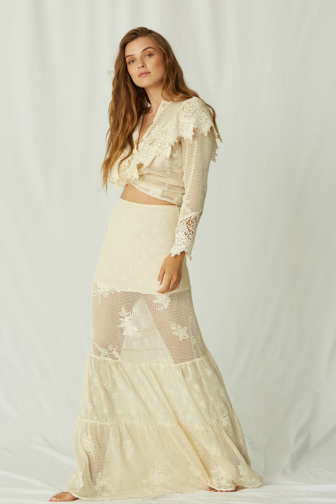 Load image into Gallery viewer, Tesouro Calypso Maxi Skirt