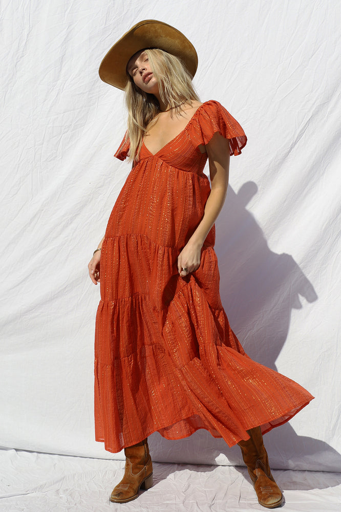 Load image into Gallery viewer, Echo Maxi Dress