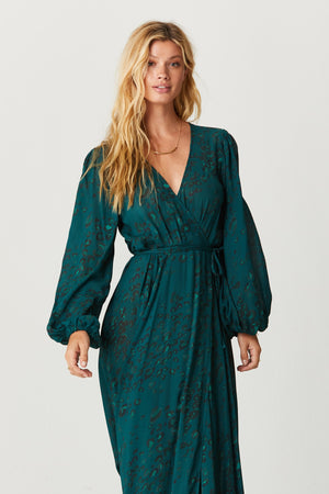 Load image into Gallery viewer, Tamarin Wrap Dress