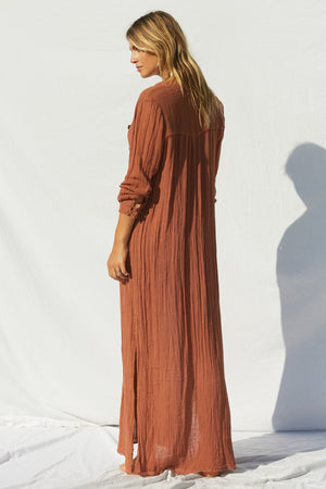 Gauze Borneo Maxi Dress