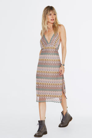Load image into Gallery viewer, Boucherouite Slip Dress