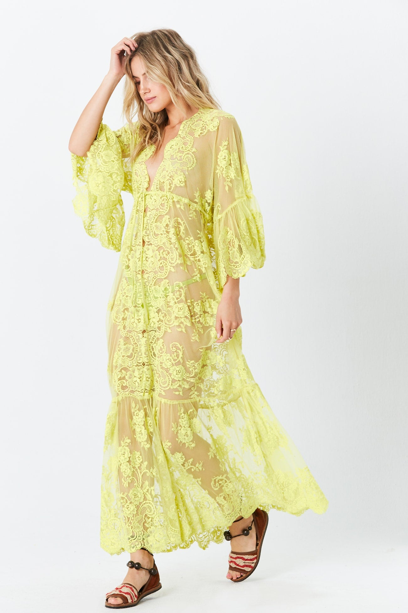 fc4672b529 Key Lime Ethereal Lace · Ethereal Black Orchid Maxi Dress ...