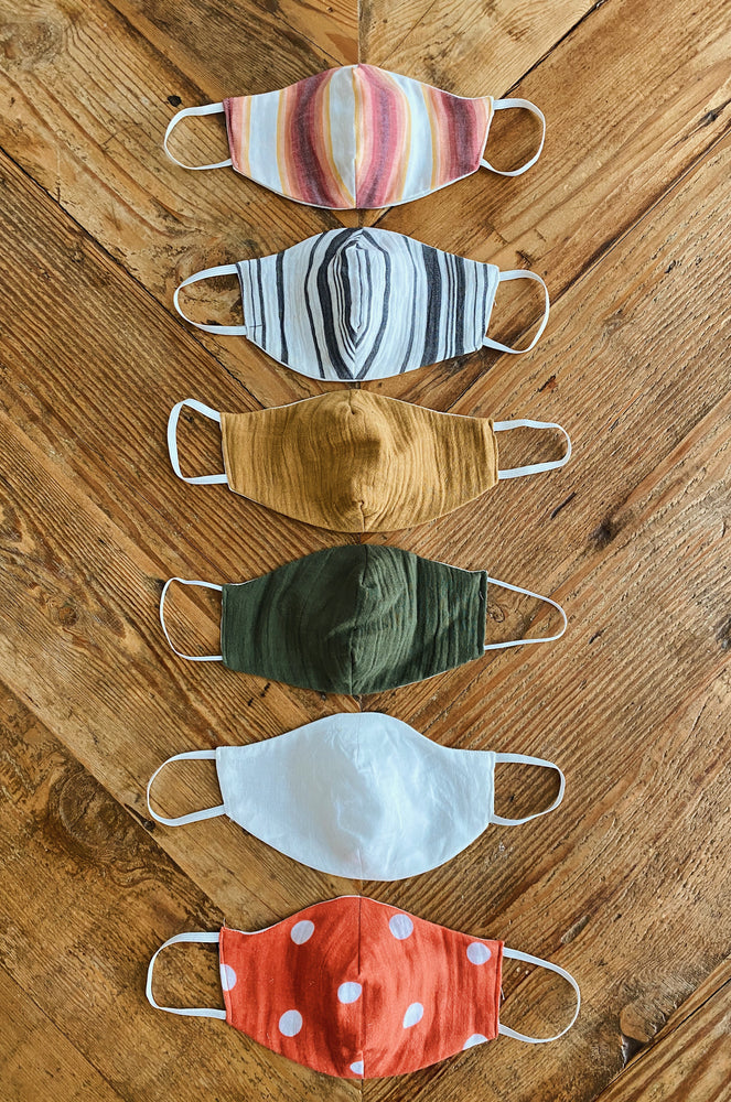 Scrap Fabric Face Masks