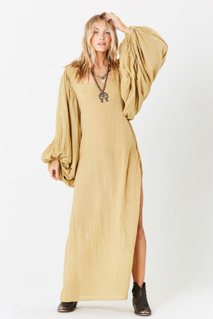 Gossamer Maxi Dress w/ Belt
