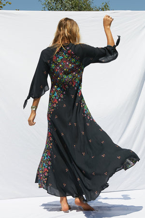 Load image into Gallery viewer, Huichol Hyacinth Gown