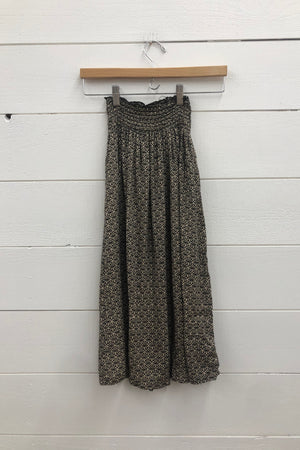 Little Crown Floral Cult Maxi Skirt