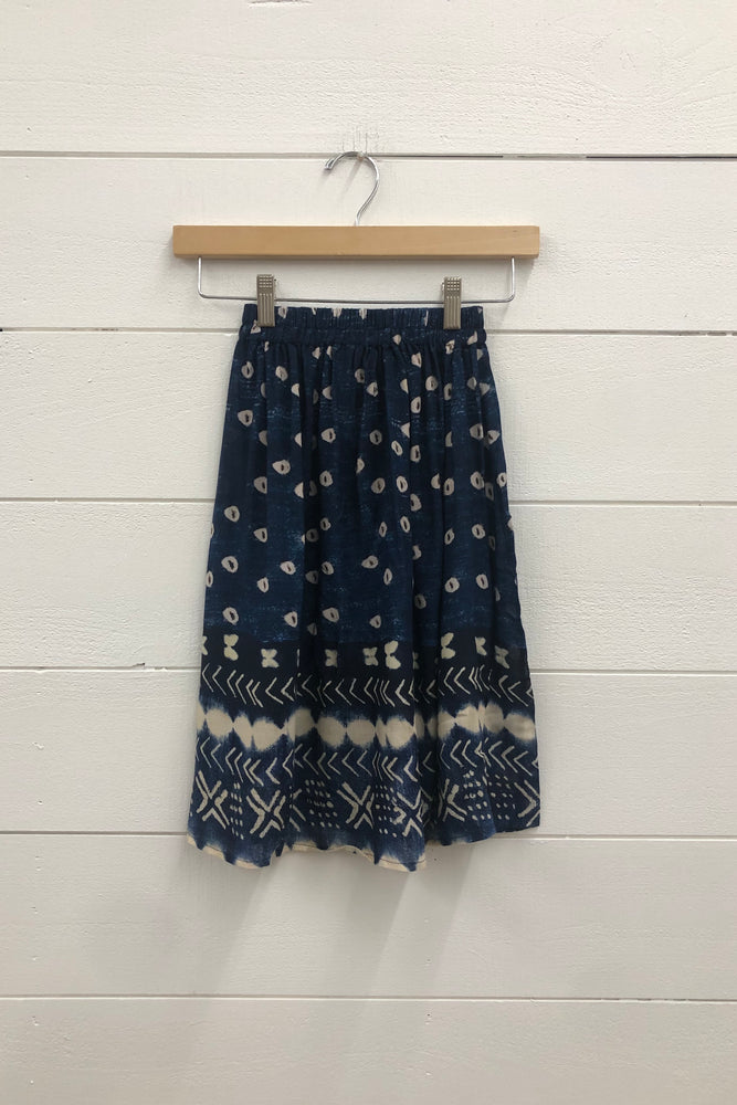 Little Indigo Gypsy Skirt