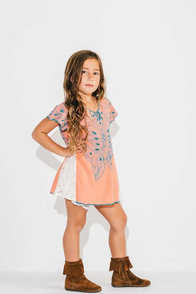 Little Lacey Butterfly Tunic