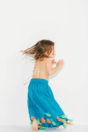 Little Pom Pom Gypsy Skirt