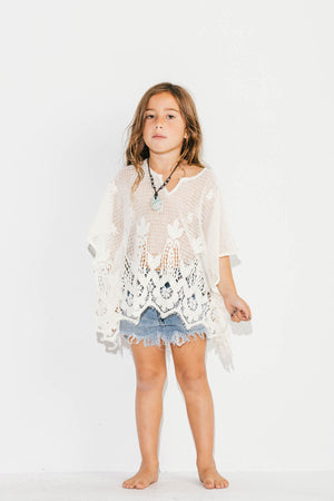 Romantic Little Santorini Kaftan