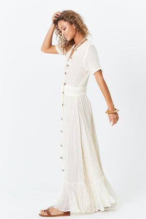 Loretta Button Down Dress