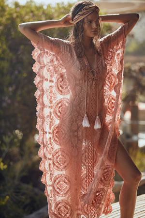 Load image into Gallery viewer, Mandala Mykonos Kaftan