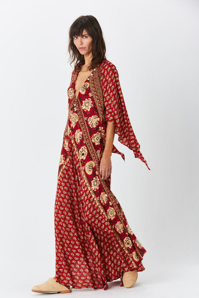 Load image into Gallery viewer, Paisley Hyacinth Gown