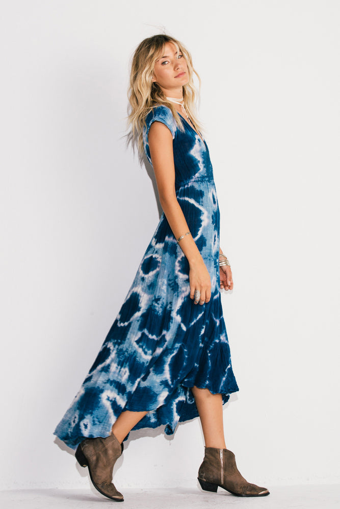 Load image into Gallery viewer, Tie Dye Paloma Maxi Dress