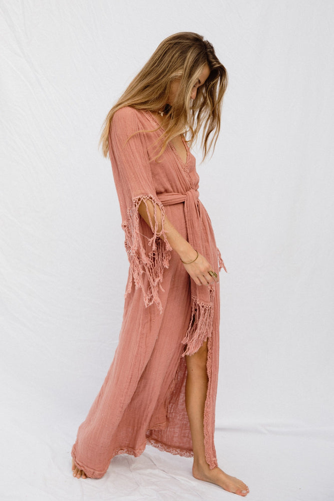 Load image into Gallery viewer, Phoenix Robe Maxi Dress