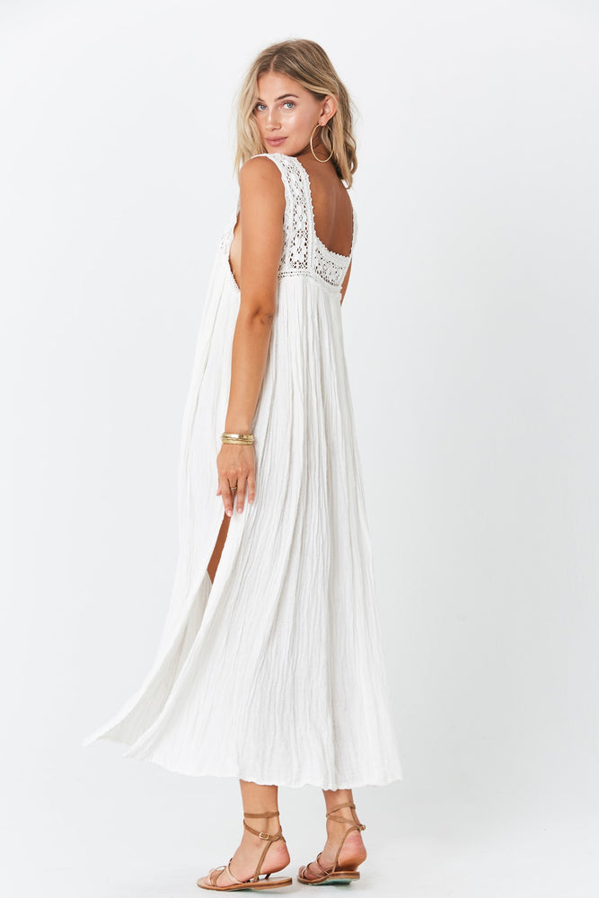 Load image into Gallery viewer, Queen Anne Maxi Dress