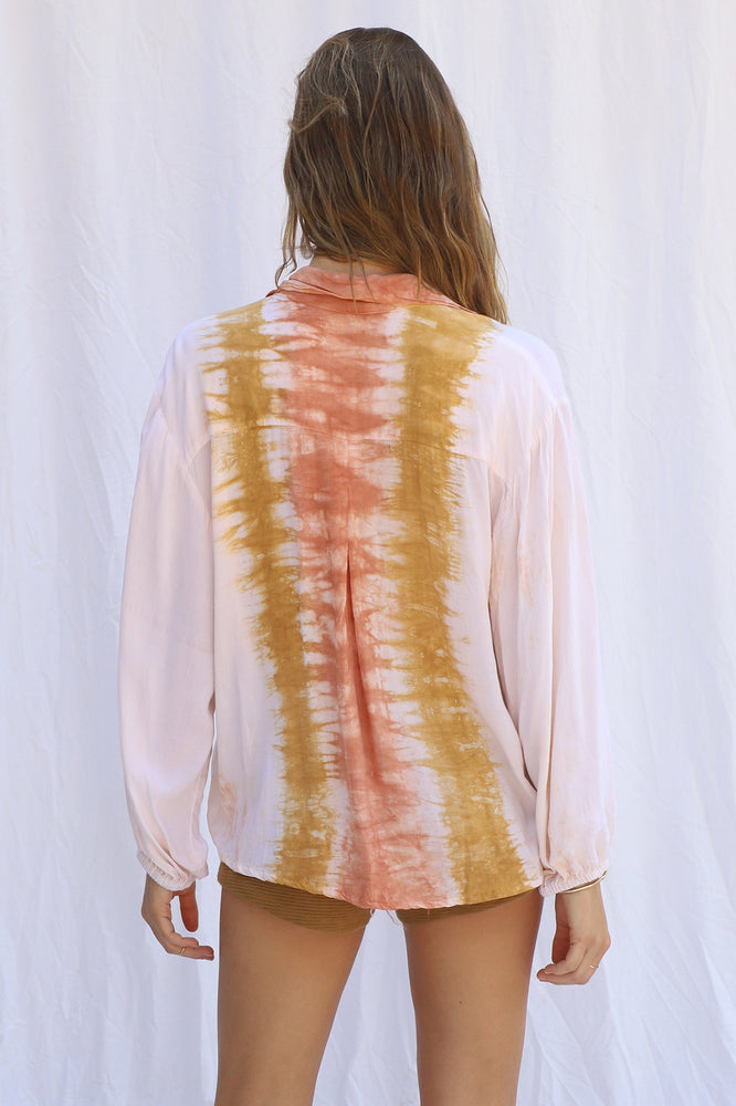 Load image into Gallery viewer, Tie Dye Rio Bonny Button Up