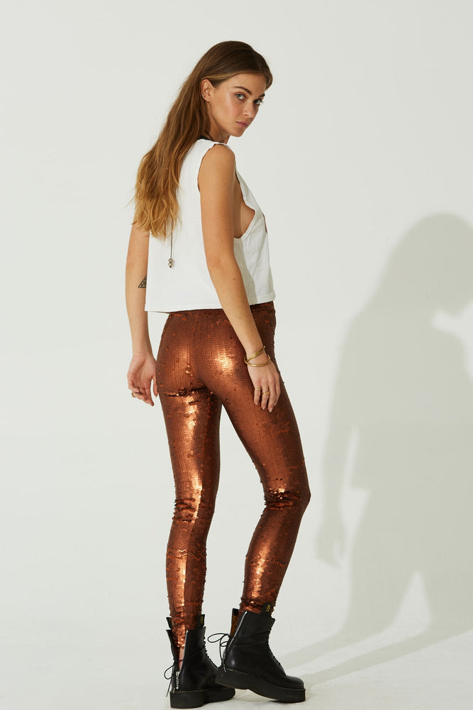 Staying Alive Sequins Leggings