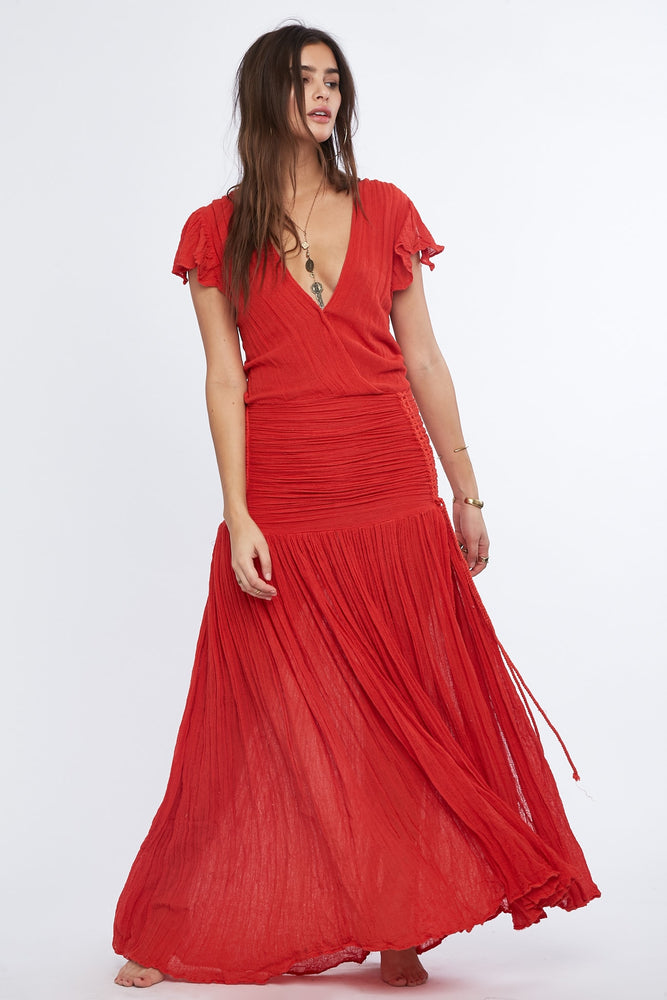 Load image into Gallery viewer, Veruschka Maxi Dress