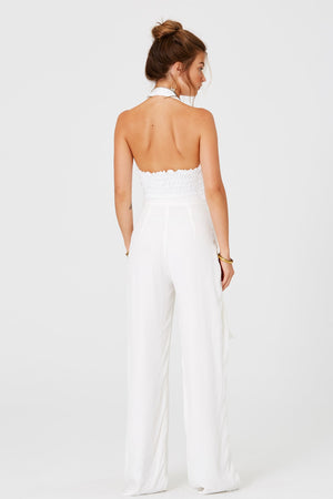 White Wedding Pants