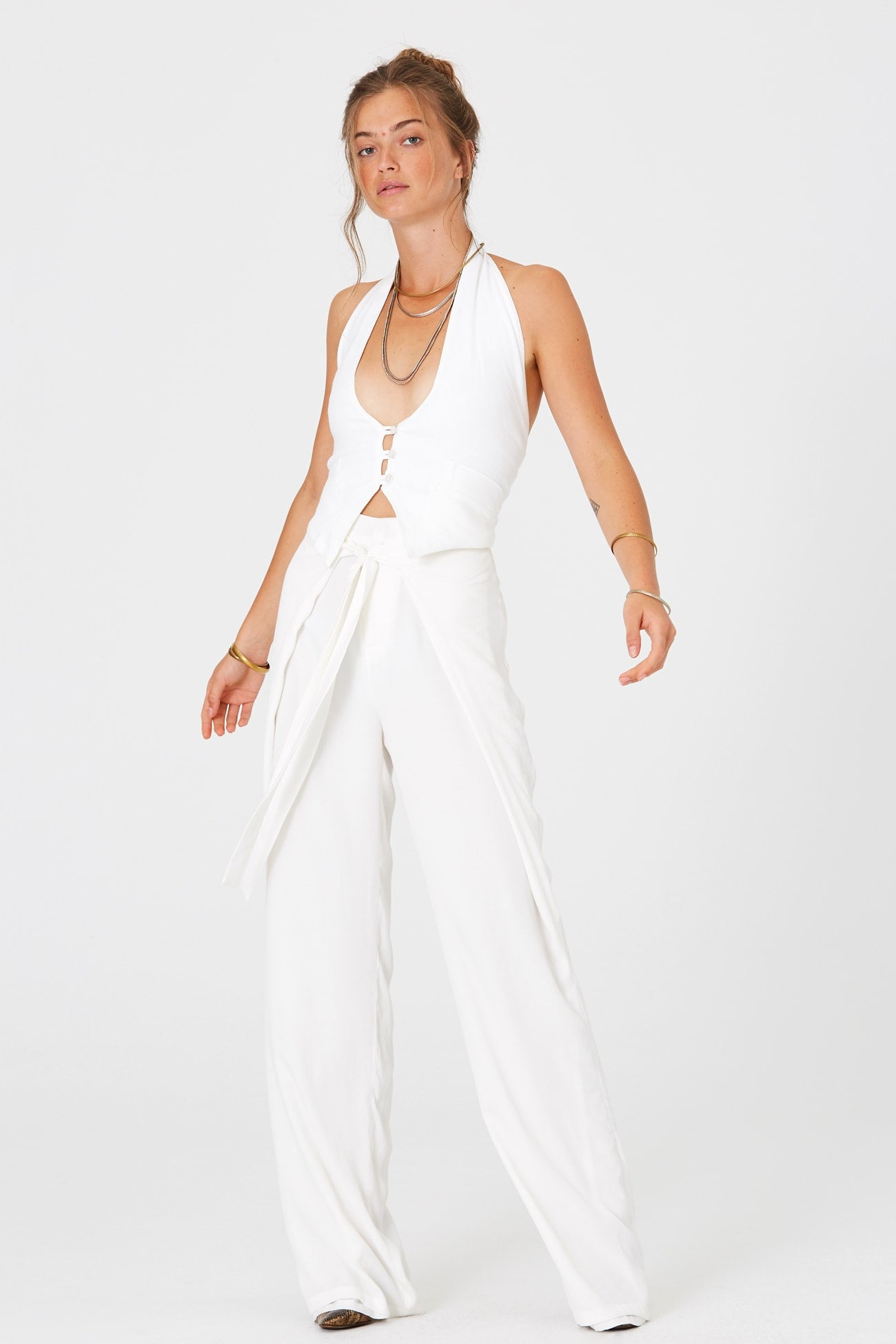 White Pants for Weddings