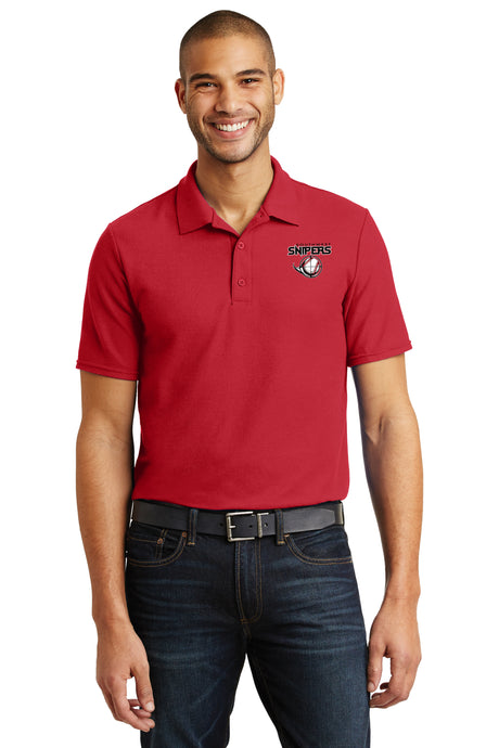 Embroidered Mens Dry Blend Polo Shirt 7280