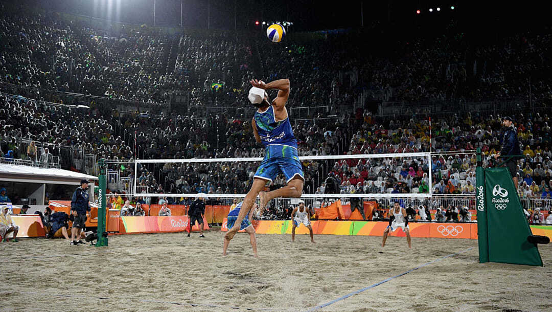 volley ball compétition