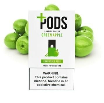 PLUS PODS - Green Apple ( Compatível Juul)