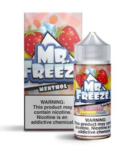 E-LIQUID MR. FREEZE -STRAWBERRY LEMONADE MENTHOL - 03mg teor - 100ml