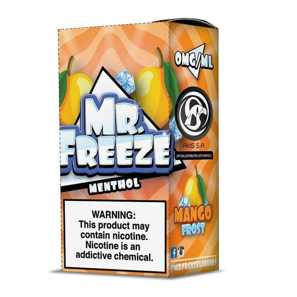 E-LIQUID MR. FREEZE - MANGO FROST MENTHOL - 03mg teor - 100ml
