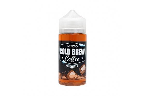 E-LIQUID COLD BREW COFFEE - MACCHIATO - 03mg TEOR - 100ml