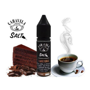 E-LIQUID - CARAVELA SALT - CAFETERIA - 35mg TEOR - 15ml