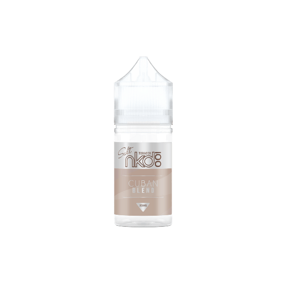 E-LIQUID - NAKED 100 SALT - CUBAN BLEND - 35mg Nicotina
