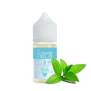 E-LIQUID - NAKED 100 SALT - CRISP MENTHOL - 35mg TEOR - 30ml