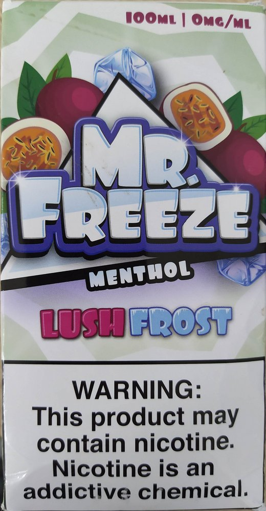 E-LIQUID MR FREEZE - LUSH FROST - 03mg TEOR - 100ml