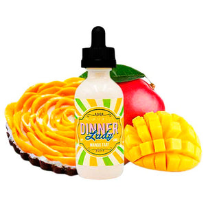 E-LIQUID DINNER LADY - MANGO TART - 03mg teor - 60ml