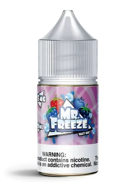 E-LIQUID MR FREEZE NIC SALT - BERRY FROST - 35mg teor - 30ml