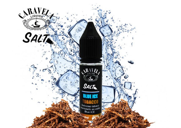 E-LIQUID CARAVELA SALT BLUE ICE TABACO - 35mg TEOR - 15ml