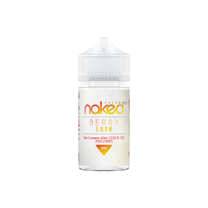 E-LIQUID NAKED 100 - BERRY LUSH - CREAM - 03mg teor - 60ml