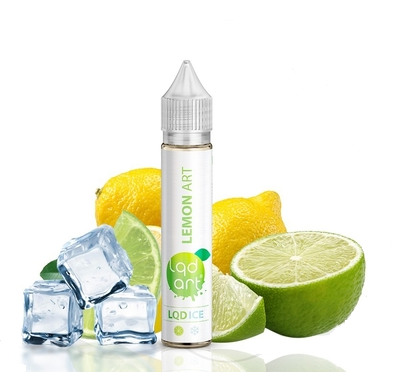 E-JUICE LQD ART ICE LEMON - 0mg TEOR - 30ml