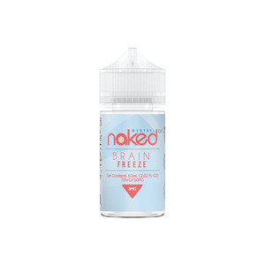 E-LIQUIDNAKED 100 - BRAIN FREEZE - MENTHOL - 3mg teor - 60ml