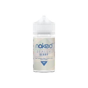 E-LIQUID NAKED 100 - REALLY BERRY - 03mg teor - 60ml